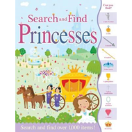 Produktbilde for Search and Find Princesses (BOK)