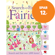 Produktbilde for Search and Find Fairies (BOK)