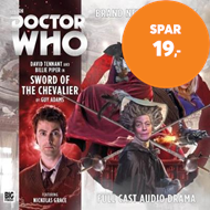 Produktbilde for The Tenth Doctor Adventures: The Sword of the Chevalier (BOK)