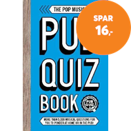 Produktbilde for The Pop Music Pub Quiz Book - More than 5,000 musical questions for you to ponder at home or in the (BOK)