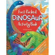 Fact-Packed Dinosaur Activity Book (BOK)
