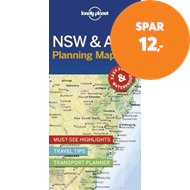 Produktbilde for Lonely Planet New South Wales & ACT Planning Map (BOK)