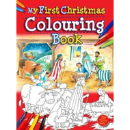 My First Christmas Colouring Book (BOK)