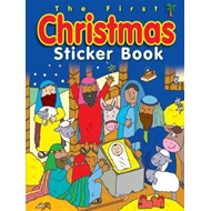 First Christmas Sticker Book, The (BOK)