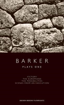 Howard Barker: Plays One (BOK)