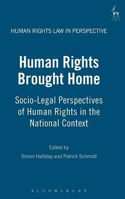 Human Rights Brought Home (BOK)