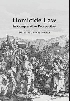 Homicide Law in Comparative Perspective (BOK)