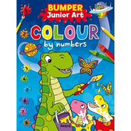Bumper Junior Art Colour by Numbers (BOK)