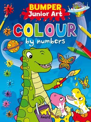Junior Art Bumper Colour By Numbers (BOK)