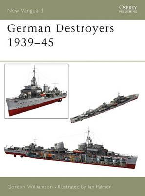 German Destroyers 1939-45 (BOK)