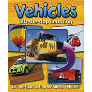 Lift-the-flap Learning: Vehicles (BOK)