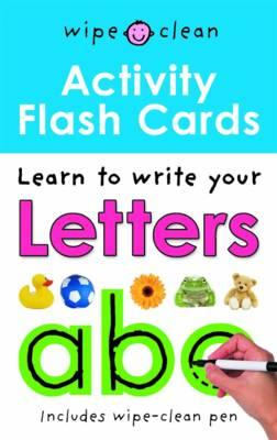 Wipe Clean Activity Flash Cards ABC (BOK)