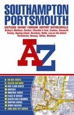 Southampton and Portsmouth Street Atlas (BOK)