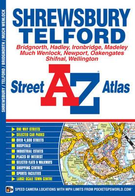 Shrewsbury and Telford Street Atlas (BOK)