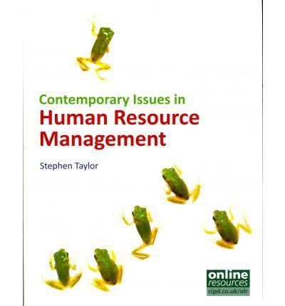 Contemporary Issues in Human Resource Management (BOK)