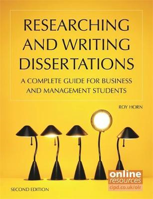 Researching and Writing Dissertations (BOK)
