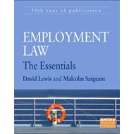 Employment Law: The Essentials (BOK)