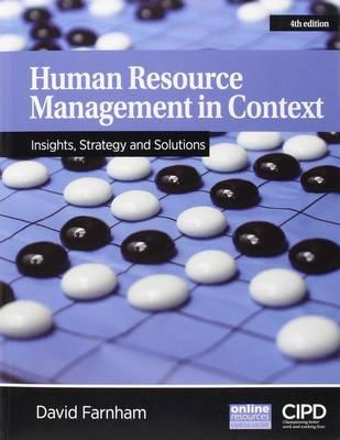 Human Resource Management in Context (BOK)