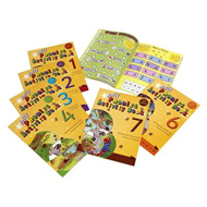 Produktbilde for Jolly Phonics Activity Books 1-7 - in Precursive Letters (British English edition) (BOK)