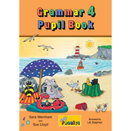 Produktbilde for Grammar 4 Pupil Book - In Precursive Letters (British English edition) (BOK)