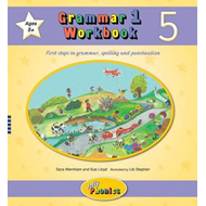 Produktbilde for Grammar 1 Workbook 5 - In Precursive Letters (British English edition) (BOK)