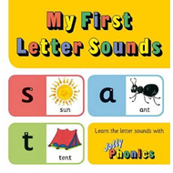 Produktbilde for My First Letter Sounds (BOK)