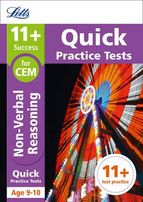 11+ Non-Verbal Reasoning Quick Practice Tests Age 9-10 for t (BOK)