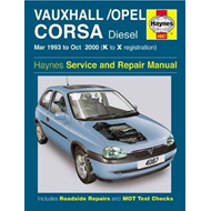 Vauxhall/Opel Corsa Diesel Service and Repair Manual (BOK)