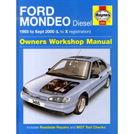 Ford Mondeo Diesel Service and Repair Manual: 1993 to 2000 (BOK)