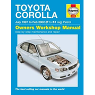 Toyota Corolla Petrol Service and Repair Manual (BOK)