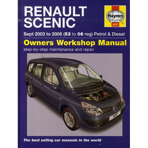 Renault Scenic Petrol and Diesel Service and Repair Manual: 2003 to 2006 (BOK)