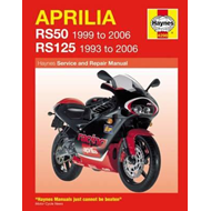 Aprilia RS50 and 125 Service and Repair Manual (BOK)
