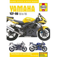 Yamaha YZF-R6 Service and Repair Manual (BOK)