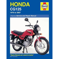 Honda CG125 Service and Repair Manual (BOK)