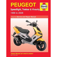 Peugeot Speedfight, Trekker (TKR) and Vivacity Service and R (BOK)