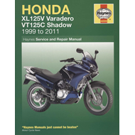 Honda XL125V & VT125C Shadow (BOK)