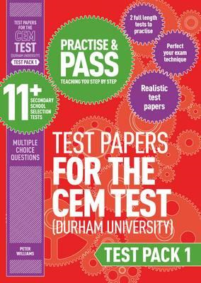 Practise and Pass 11+ CEM Test Papers - Test Pack 1 (BOK)