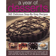 Year of Desserts: 365 Delicious Step-by-Step Recipes (BOK)