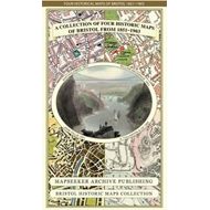 A Collection of Four Historic Maps of Bristol from 1851-1903 (BOK)