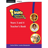 I-learn: Speaking and Listening Years 3 and 4 Teacher's Book: Year 3 & 4 (BOK)