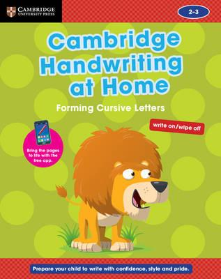 Cambridge Handwriting at Home: Forming Cursive Letters (BOK)