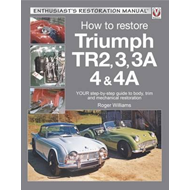 Triumph TR2, 3, 3A, 4 & 4A - Enthusiast's Restoration Manual (BOK)