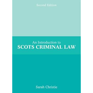 Introduction to Scots Criminal Law (BOK)