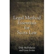 Legal Method Essentials for Scots Law (BOK)