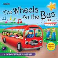 Produktbilde for The Wheels On The Bus - Favourite Nursery Rhymes (BOK)
