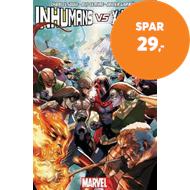 Produktbilde for Inhumans Vs. X-men (BOK)
