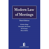 Modern Law of Meetings (BOK)