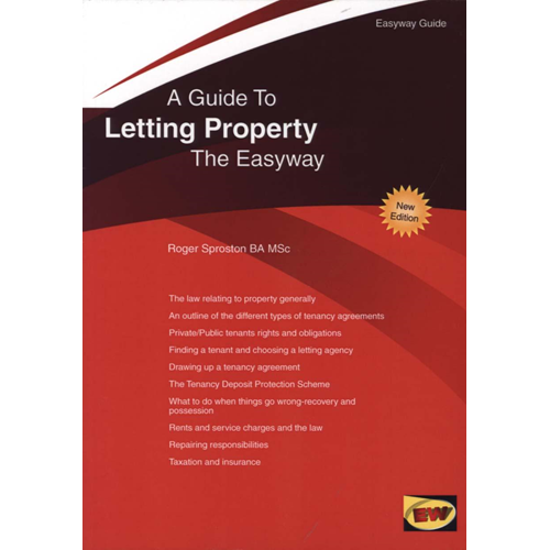 Guide to Letting Property: The Easyway (BOK)