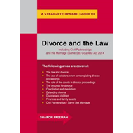 Straightforward Guide to Divorce and the Law (BOK)