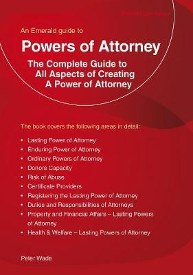 Emerald Guide To Powers Of Attorney (BOK)